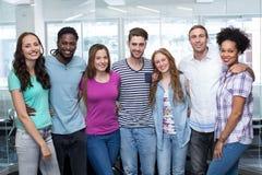 Ritratto degli studenti di college Fotografia Stock Libera da Diritti