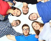 Ritratto degli studenti di college sicuri Fotografie Stock