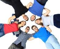 Ritratto degli studenti di college sicuri Immagine Stock