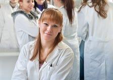 Ritratto degli studenti di medicina Immagine Stock Libera da Diritti