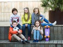 Ritratto dei bambini della scuola elementare Immagine Stock Libera da Diritti