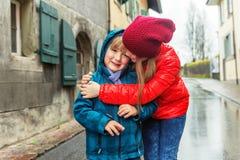 Ritratto dei bambini svegli Fotografie Stock Libere da Diritti