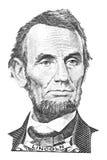 Ritratto del Abraham Lincoln Fotografia Stock Libera da Diritti