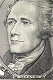 Ritratto del Alexander Hamilton fotografie stock libere da diritti