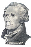 Ritratto del Alexander Hamilton Fotografia Stock