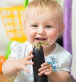 Ritratto del bambino adorabile Fotografia Stock Libera da Diritti
