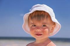 Ritratto del bambino caucasico. Immagine Stock