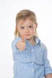 Ritratto del bambino determinated Immagine Stock