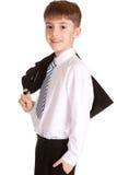 Ritratto del bambino di affari Fotografie Stock