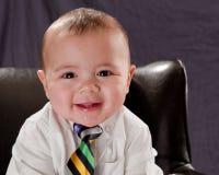 Ritratto del bambino di affari Immagini Stock