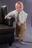 Ritratto del bambino di affari Immagini Stock Libere da Diritti