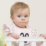 Ritratto del bambino di 9 mesi. Immagine Stock