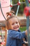 Ritratto del bambino di risata Immagini Stock