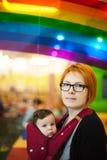 Ritratto del bambino e della madre Fotografia Stock Libera da Diritti