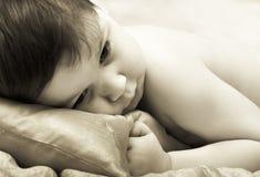 Ritratto del bambino offensivo Fotografie Stock Libere da Diritti