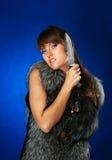 Ritratto del brunette Fotografia Stock Libera da Diritti