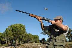 Ritratto del cacciatore Fotografie Stock