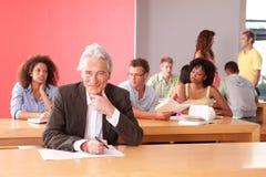 Ritratto del conferenziere dell'università Immagine Stock