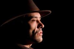 Ritratto del cowboy Fotografia Stock