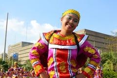 Ritratto del danzatore della via Immagini Stock Libere da Diritti
