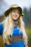 Ritratto del Fisherwoman Fotografia Stock