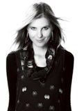 Ritratto del fronte della donna di bellezza Fotografie Stock Libere da Diritti