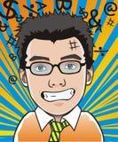Ritratto del fumetto Fotografia Stock
