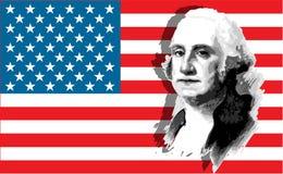 Ritratto del George Washington Fotografie Stock Libere da Diritti