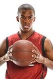 Ritratto del giocatore di pallacanestro Fotografia Stock