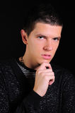 Ritratto del giovane Fotografia Stock Libera da Diritti