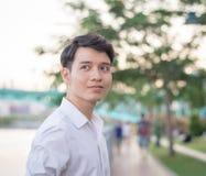Ritratto del giovane asiatico fotografia stock libera da diritti
