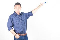 Ritratto del giovane asiatico - concetto di istruzione Immagini Stock
