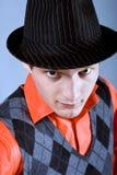 Ritratto del giovane in un cappello Immagine Stock Libera da Diritti
