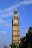 Ritratto del grande Ben - Londra, Inghilterra Fotografia Stock Libera da Diritti