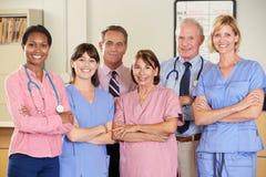 Ritratto del gruppo di medici Immagine Stock Libera da Diritti