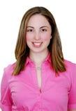 Ritratto del headshot della giovane donna Fotografia Stock Libera da Diritti