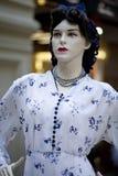 Ritratto del manichino femminile Fotografia Stock Libera da Diritti