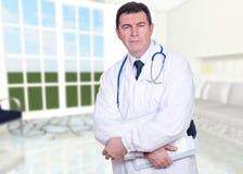 Ritratto del medico Immagini Stock Libere da Diritti