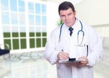 Ritratto del medico Immagine Stock Libera da Diritti