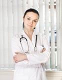 Ritratto del medico femminile Immagini Stock Libere da Diritti