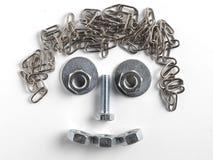 Ritratto del metallo Immagine Stock