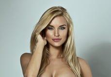 Ritratto del modello femminile Fotografia Stock