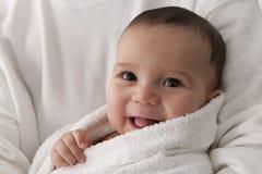 Ritratto del neonato felice di s Immagini Stock