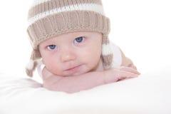 Ritratto del neonato sveglio Immagine Stock