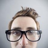 Ritratto del nerd immagine stock libera da diritti