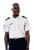Ritratto del poliziotto maturo Fotografia Stock