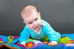 Ritratto del primo piano di bella neonata Fotografia Stock Libera da Diritti