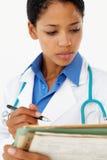 Ritratto del professionista medico immagini stock
