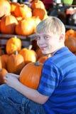 Ritratto del raccolto del ragazzo Fotografia Stock Libera da Diritti