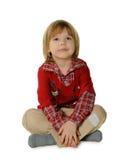 Ritratto del ragazzino Fotografie Stock